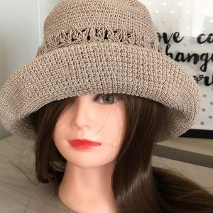 Taupe Hobo Hat